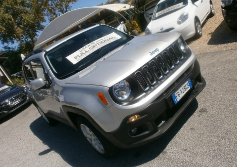 jeep renegade 1.6 multijet 120 cv longitudine