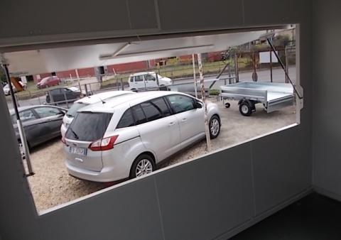 carrello adibito uso ufficio itinerante